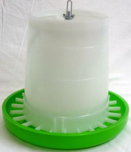 Green & White Feeder 5kg (POU-124A)