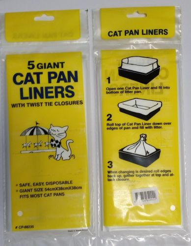 Giant Litter Tray Liner Bags