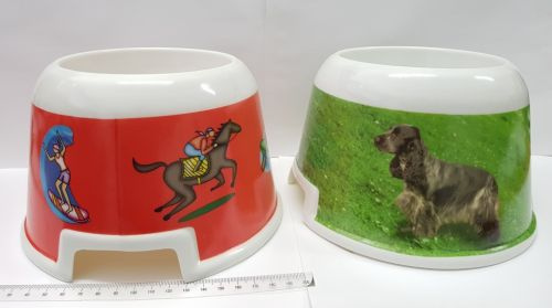 Melamine Cocker Dog Bowl