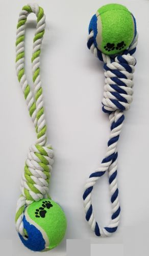 Looped Rope with Tennis Ball