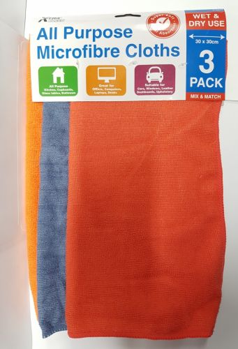 Microfibre Clothes 3 pack