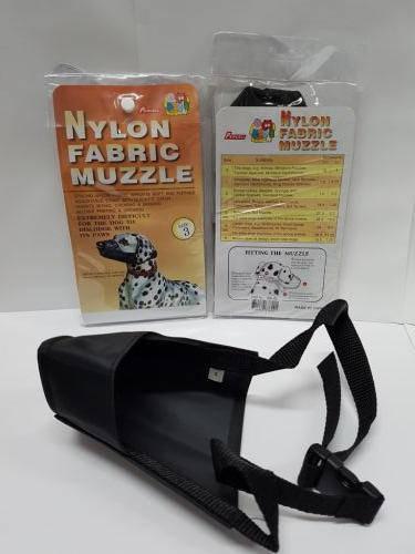 Nylon Fabric Muzzle size 3