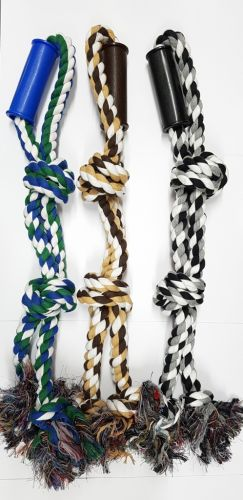 Doubled Rope Heavy Duty Tug Toy 25mm Thick 62cm long