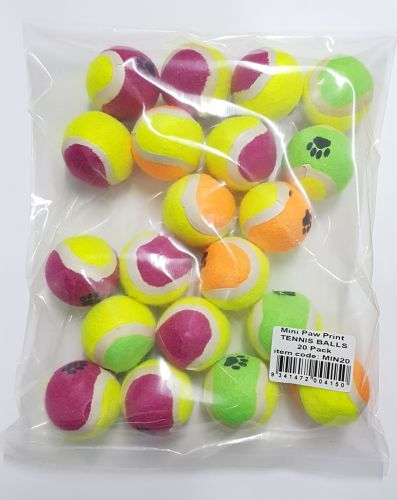 Tennis Balls Mini 20 pack