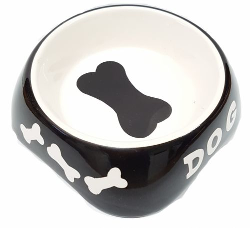 Ceramic Dog Bowl 125mm diam. Small SPECIAL - 30%