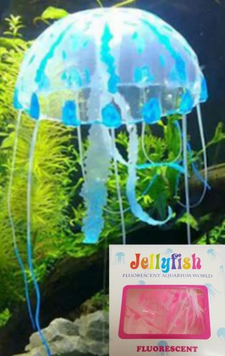 Jellyfish Silicone Ornament