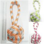 Weaved Rope 20mm thick - Ball 12cm on Loop 15cm