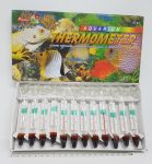 Percell Aquarium Glass Thermometer 12 pack